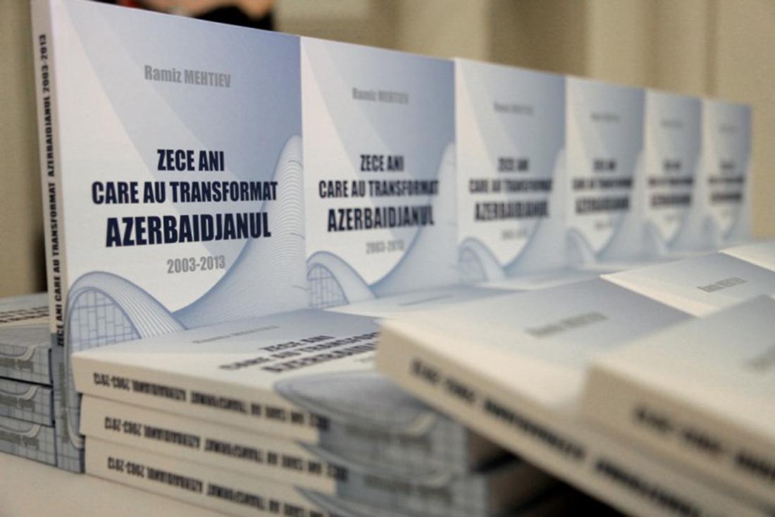 </p> <p><center>Ten Years that Changed Azerbaijan: 2003-2013